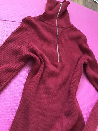 Golf sweter h&m zamek 34