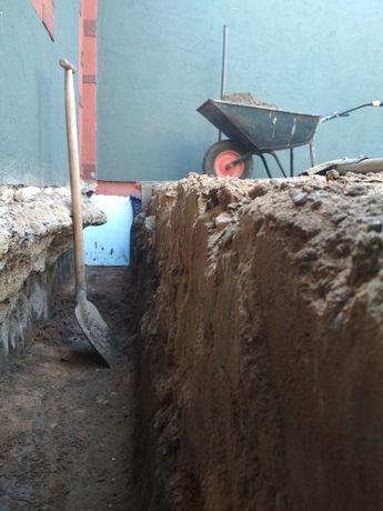 Ocieplenie Izolacje Fundamentów odwodnienie budynku