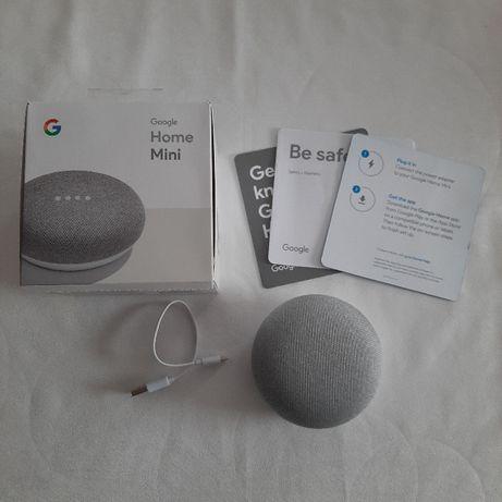 Głośnik przenośny Google Home Mini szary