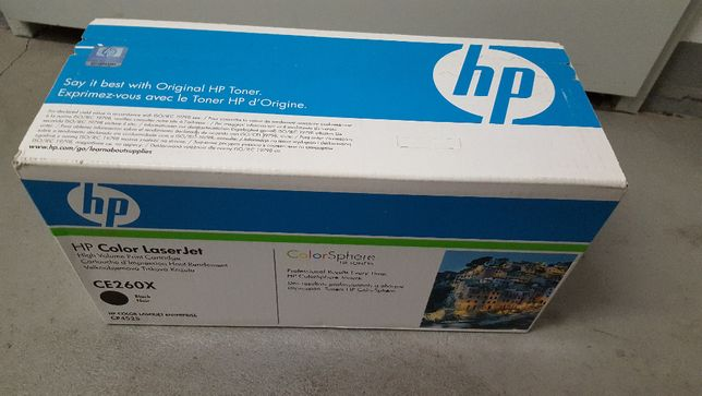 Toner HP CE260X Blak , Do CP4525