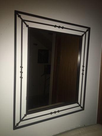 Espelho de Ferro - Antigo