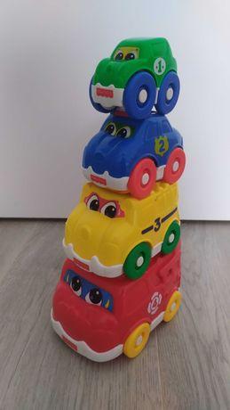 Wieża z autek Fisher Price