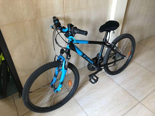 """Rower górski MTB ROCKRIDER st 500 24"""" DLA DZIECI"""