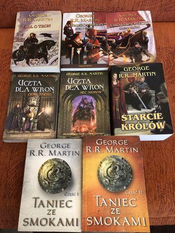 Gra o Tron George R.R. Martin komplet 8 książek