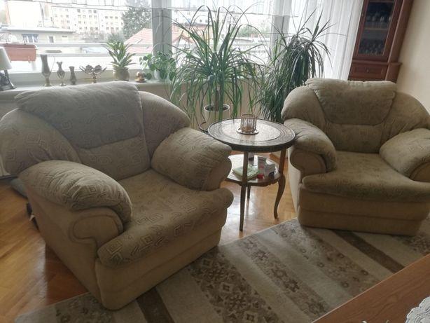 Zestaw wypoczynkowy kanapa 2 fotele tapicerowane Wajnert