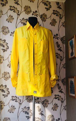Versace оригинал жакет удлиненный ярко желтая