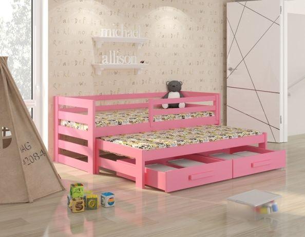 Drewniane łóżeczko dla dziecka polskiej firmy Kubi Premium