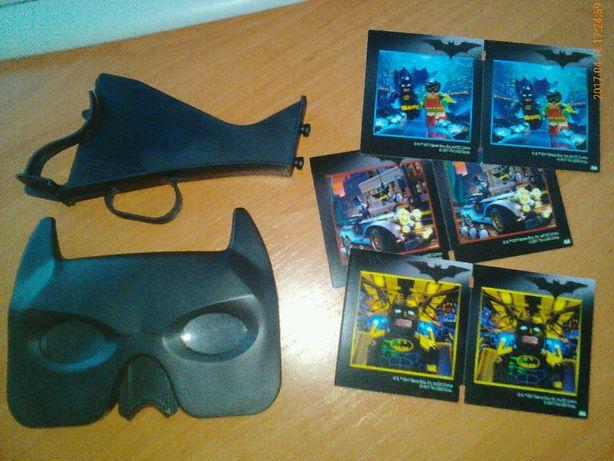 Бэтмен Бетмен пазл 3Д 3D очки карточки конструктор Китти
