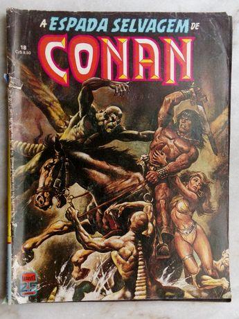 Revistas de banda desenhada - A espada selvagem de Conan