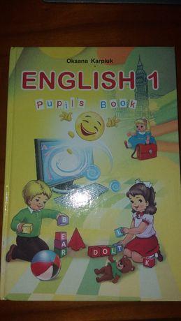 Учебник английского языка 1 класс О. Карпюк