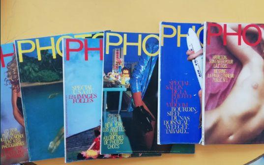Lote 44 revistas PHOTO antigas