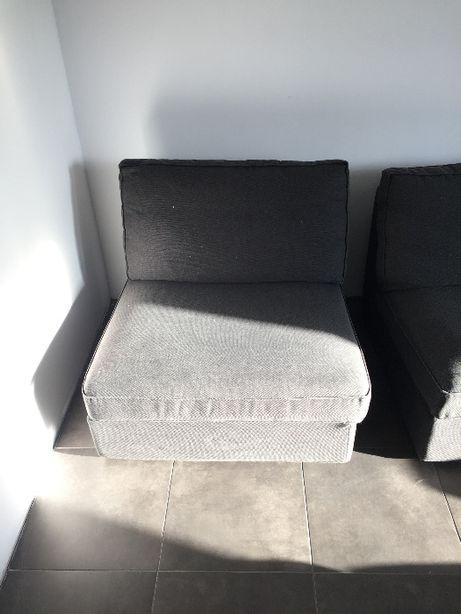 Pufa/fotel Ikea 1-osobowa z serii KIVIK