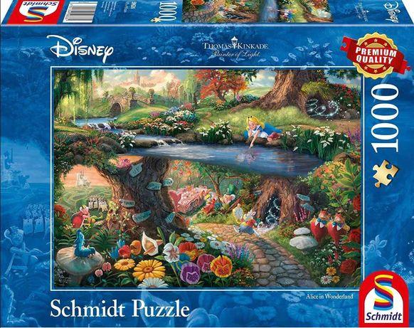 Puzzle Disney Schmidt Thomas Kinkade/ Alicja w krainie czarów