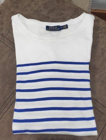 T-shirt Ralph Lauren estilo Navy tamanho M