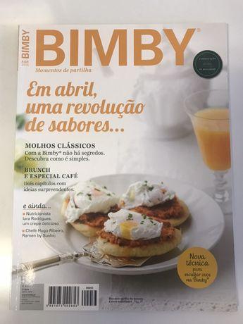 Pack de 5 Revistas BIMBY como novas