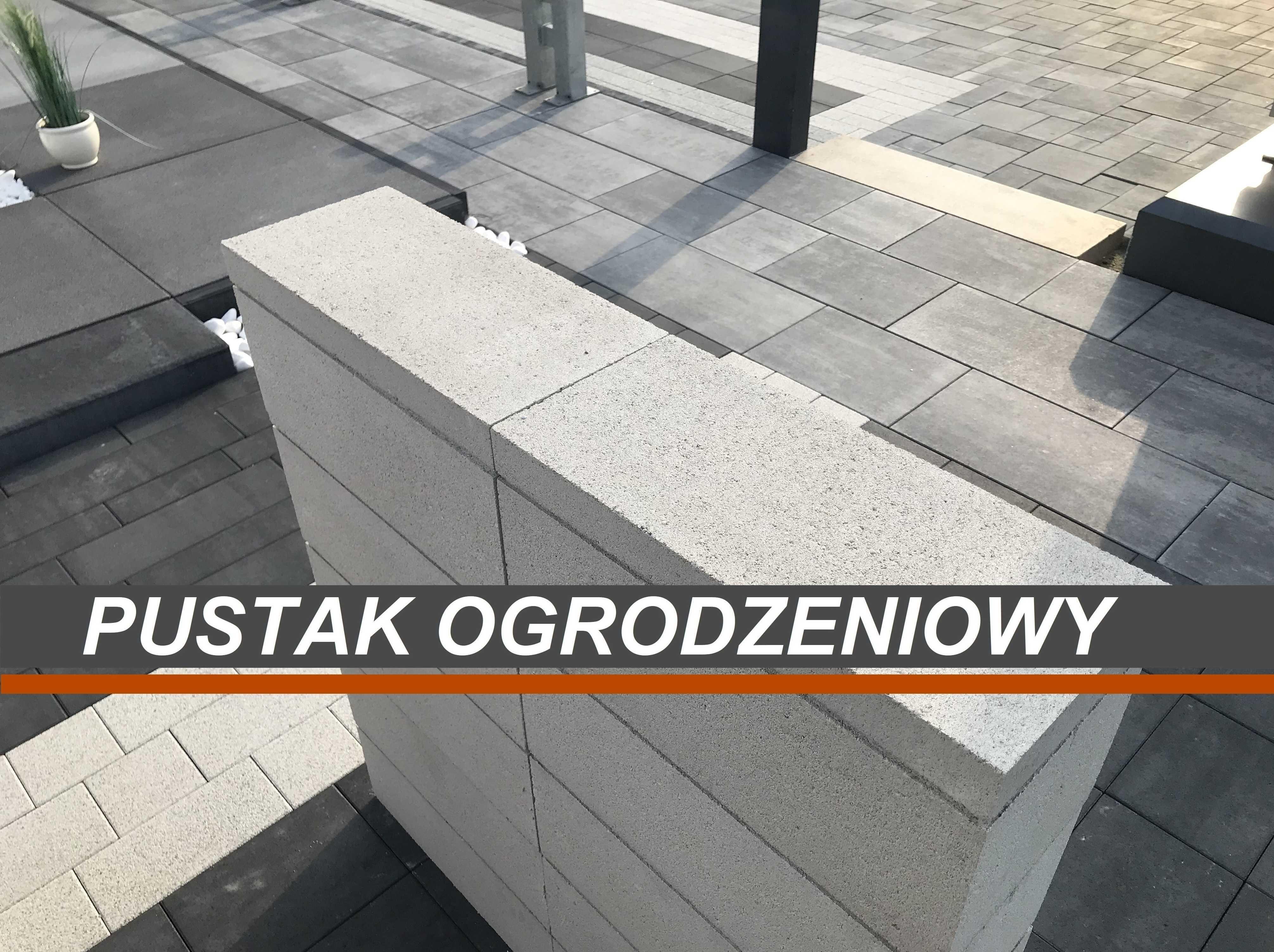Pustak ogrodzeniowy / Ogrodzenie / Daszki