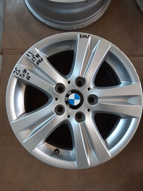 25 Felgi Aluminiowe Alusy ORYGINAŁ BMW R 16 5x120 otwór 72.5 ŁADNE