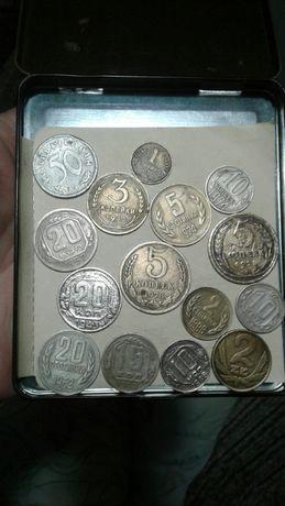 Монета Царской России.СССР на фото.Оптом недорого.ПОДАРКИ Ценителям