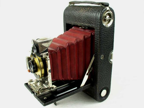 Aparat mieszkowy Kodak NO. 3 Folding Pocket Model E-4 - 1905 rok