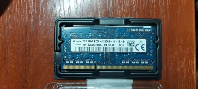 Оперативная память для ноутбука DDR3 2 Gb