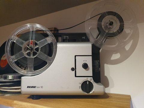 Projektor Retro (do wystroju wnętrza)