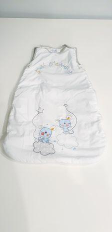 Śpiwór śpiworek grobag dziecięcy niemowlęcy 0-6 m-cy (2,5 tog)