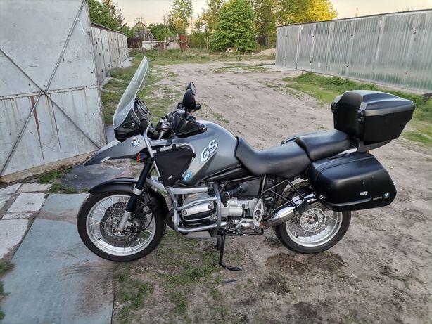 BMW R1150 GS, ABS, Zadbany