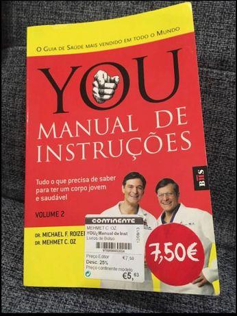 YOU Manual de Instruções