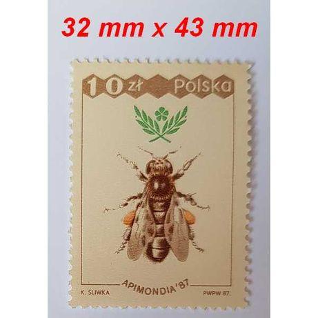 Znaczek pocztowy Pszczoła 1987 r.