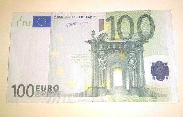 100 евро 2002 VF