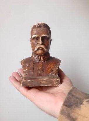 Popiersie Marszałek Józef Piłsudski 1930 rok unikat