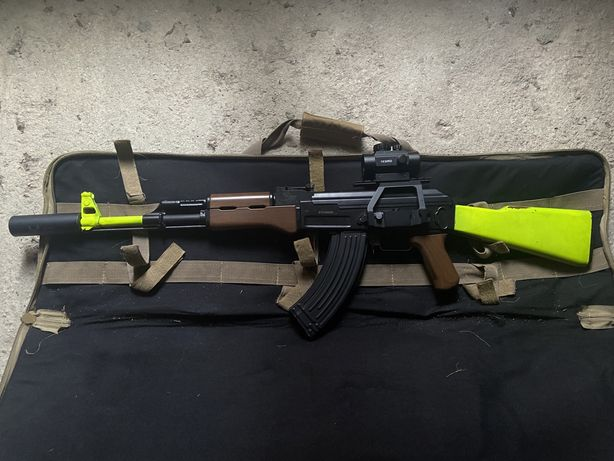 Ak 47 airsoft + equipamento