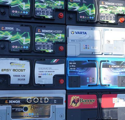Akumulatory 30-230Ah 40,45,50,55,60,62,70,74,77,80,85,90,95,100,105Ah
