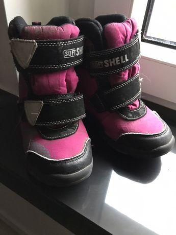 Buty zimowe dla dziewczynki. Rozmiar 28