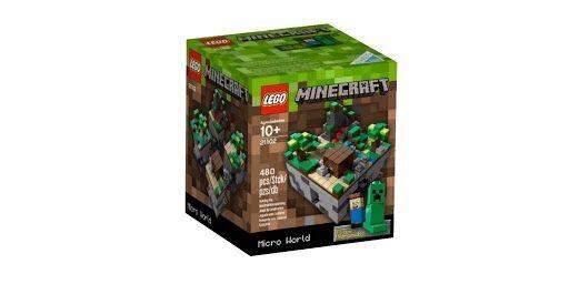 LEGO Minecraft Микро Мир - Лес (21102)