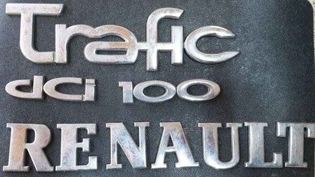Букви Renault Trafic комплект