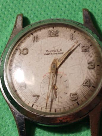 stary zegarek WATERPROOF 15 JEWELS