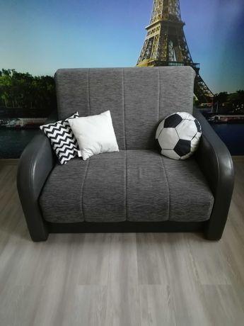 Sofa jednoosobowa funkcja spania sprzedam .