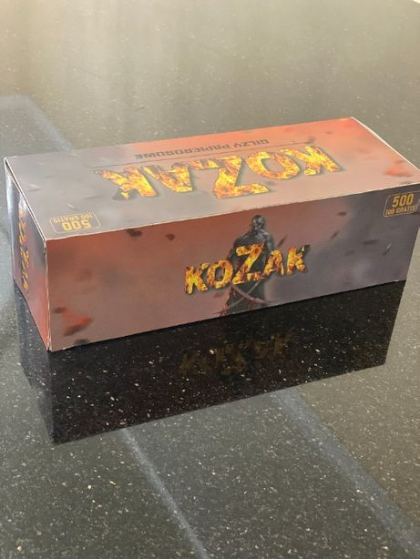 KOZAK 500 Гильзы для сигарет, гильзы для табака, сигаретные гильзы