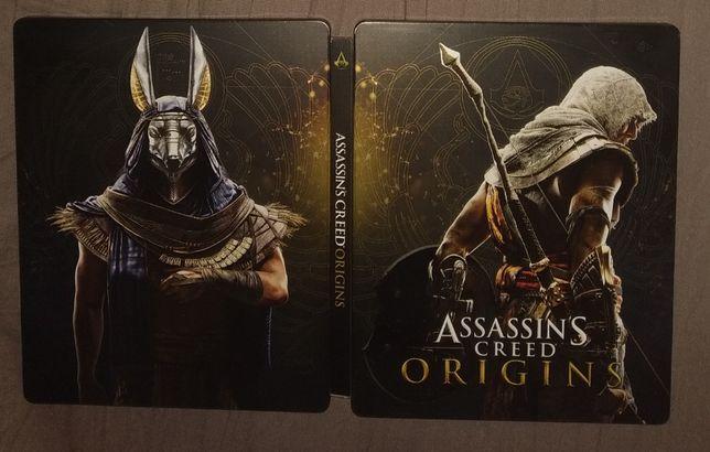 Assassin's Creed Origins - Steelbook - Stan Idealny Jak NOWA - PS4
