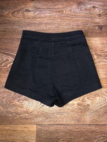 Шорты летние черные джинсовые