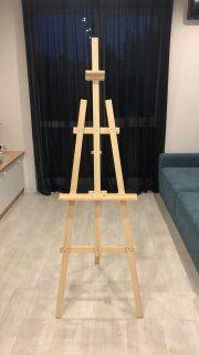 Мольберт деревянный тренога напольный детский лира настольный студийны