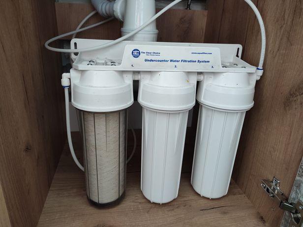 Проточный фильтр для питьевой воды Aqua Filter