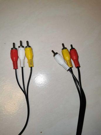 Kabel 3xRCA Cinch przewód