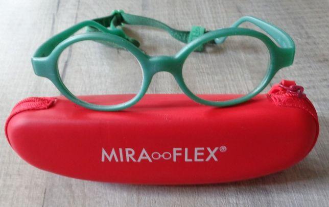 MIRA FLEX oprawki do okularków dziecięcych z gumką + etui 2-5 lat