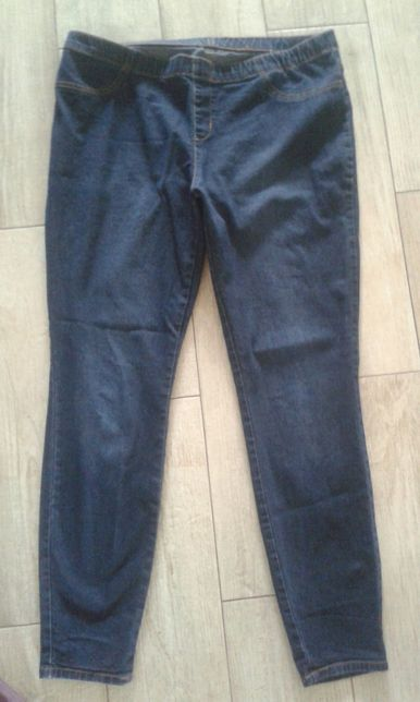 Spodnie, legginsy jeansowe C&A roz. 44