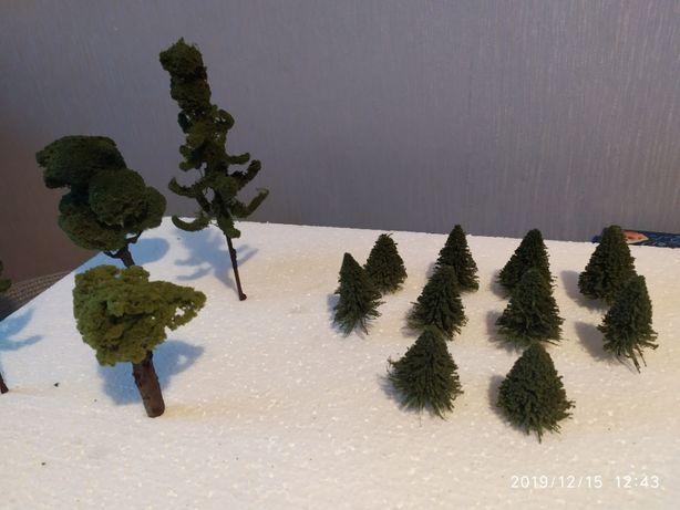 Drzewka na makietę,dioramę