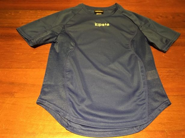 camisola de desporto, criança, 8 anos, marca Kipsta