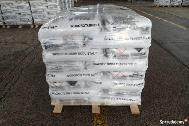 Soda Kaustyczna - Wodorotlenek Sodu 1000 kg - płatkowana
