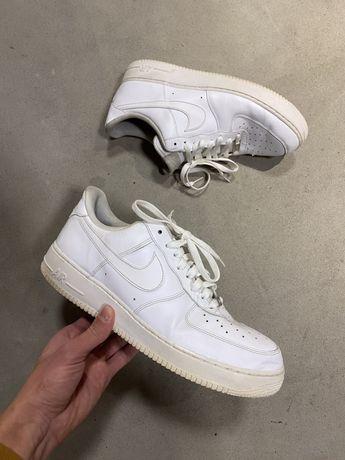 Кроссовки Nike Air Force 1 '07 Low White Jordan белые низкие 46 30 см